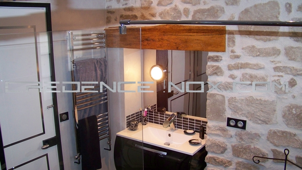 miroir salle de bain le blog d coration de cr dence inox. Black Bedroom Furniture Sets. Home Design Ideas
