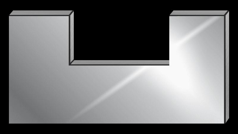 la cr dence inox sur mesure facile de qualit et. Black Bedroom Furniture Sets. Home Design Ideas