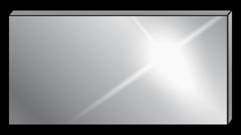 credence inox sur mesure rectangle