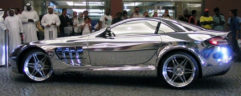 mercedes coupe inox