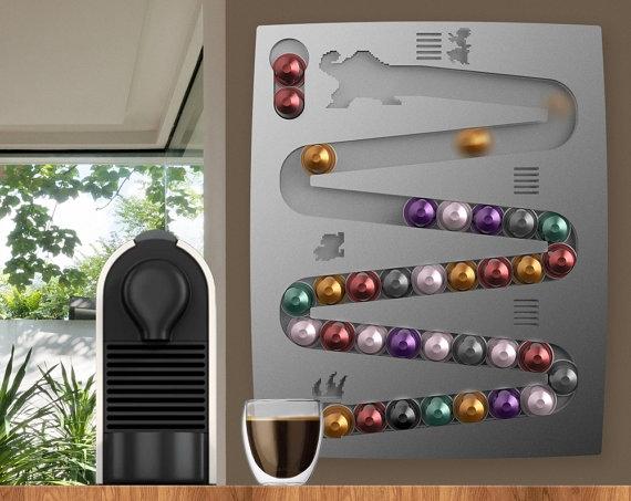 Support design pour capsules de café NESPRESSO ®