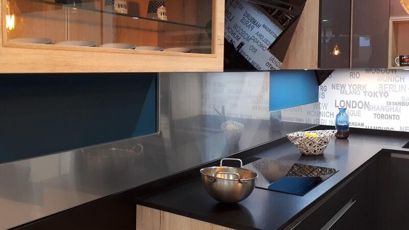 cr dence inox plan de travail inox configurateur et prix. Black Bedroom Furniture Sets. Home Design Ideas